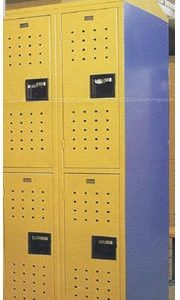 Locker After - Electrostatic Painting and Metal Refinishing